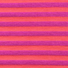 Magenta and Coral Mini Stripe Cotton Lycra Knit Fabric - Perfect summer tank!