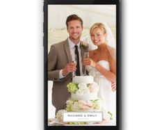 #Snapchat #Wedding #Geofilter – Three Thirty Creative.  www.etsy.com/threethirtycreative
