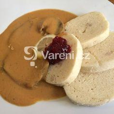 Fotografie receptu: Svíčková na smetaně podle Richarda Nováka Czech Recipes, Pancakes, Goodies, Thanksgiving, Treats, Vegan, Baking, Breakfast, Czech Republic