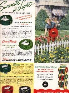 Genial 1951 Vintage Ad For Swan Garden Hoses (Lawn U0026 Garden Ads) At Ads From The  Past