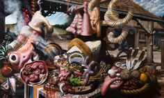 Crazy work by Christian Rex van Minnen - Empty Kingdom
