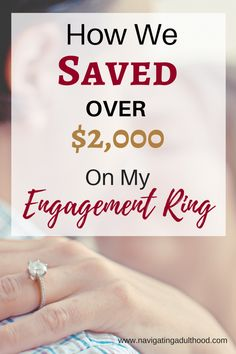 Engagement ring shopping on a budget | I wanted to share some advice on how you can save thousands on your engagement ring by shopping at Costco. We saved over $2,000 dollars!