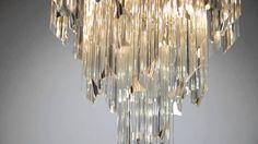 Loving this '60s/'70s inspired glam from Corbett Lighting