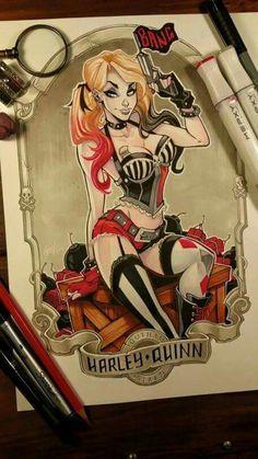 Harley Quinn - DC Comics - Harleen Quinzel - Gotham City Sirens - Arkham Asylum - Gotham Sirens