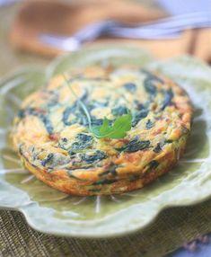 Recette omelette en gâteau à la roquette - Cuisine / Madame Figaro