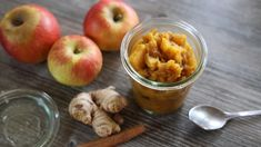 Spiced Apple Chutney: A Delicious and Easy Recipe for the Holidays Fruit Chutney Recipe, Chutney Recipes, Indian Food Recipes, Real Food Recipes, Healthy Recipes, Ginger Benefits, Homemade Applesauce, Spiced Apples, Food Waste