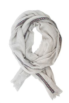 This 100% cotton scarf is only $24!