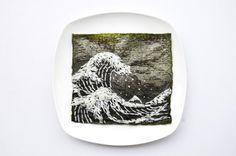 Ricette da guardare: Hong Yi, artista e architetto malese per tutto il mese di marzo pubblicherà su Instagram dei piatti ricette, che sembrabo essere dipinti e vere opere d'arte.