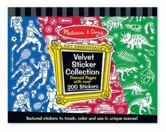 Melissa & Doug Art Essentials - Velvet Sticker Collection (4236)