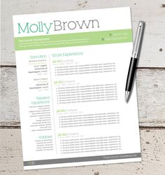Grad Sale Instant Download  Resume Design Template  Microsoft