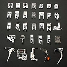 One set that contains all the sewing presser feet you will ever need! Did you get this set and the names were all Chinese - here are the English names.