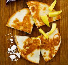 Vuohenjuusto-mango-quesadillat - Soppa 365