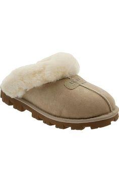 UGG Genuine Shearling Slipper (Women). #ugg #shoes #flats
