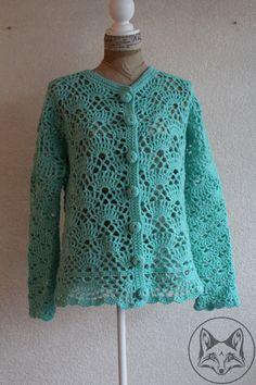 Vest turquoise - La Volpe Moda