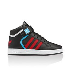 Adidas High Tops for Girls   Red Adidas High Tops Kids