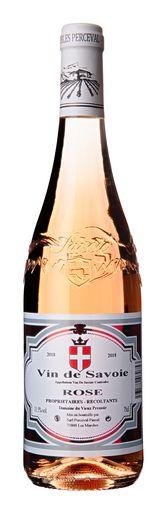 Dom. Perceval Vin de Savoie Rosé 2018 Wine, Drinks, Bottle, Pineapple, Flask, Drink, Beverage, Drinking