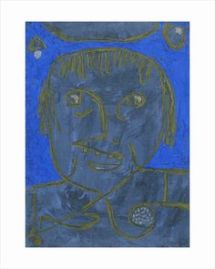 'Young Man on the Eve' - Paul Klee.