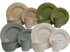 TAG Sonoma 16-Piece Dinnerware Set for $54.99  sc 1 st  Pinterest : sonoma dinnerware - pezcame.com
