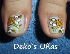 Trabajos de este Spa, que son una obra de arte... Deko's SPA Pedicure Designs, Toe Nail Designs, Feet Nails, Finger Painting, Toe Nail Art, Love To Shop, Pretty Hairstyles, Beauty Secrets, Simple Designs