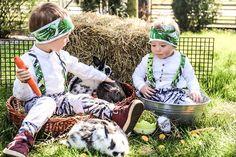 Radosnych Swiat Wielkiej Nocy życza Zajaczki ;) i te o 2 nogach i te o 4;) ____________ #kidsmodel #easter2019 #wielkanoc2019 #froheostern…