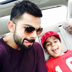 "2753ed3412 Virat Kohli on Instagram  ""With this crazy one! 👲"""