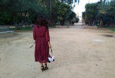 vestido-de-estrellas by @rosewholesale http://tupersonalshopperviajero.blogspot.com.es/2016/10/rosewholesale-burgundy-stars-dress.html