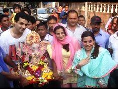 Ameesha Patel's Ganapti Visarjan | Ganesh Chaturthi 2014.