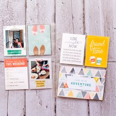 Jan 2015 Project Life Spread by geekgalz - Studio Calico Project Life 6x8, Life 2016, To Do This Weekend, Simple Stories, Studio Calico, New Me, Smash Book, Life Inspiration, Scrapbooking Layouts