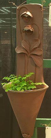 Woodlands Garden Pottery --  Standard Pots  so pretty