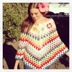 © positivelylace Easily my favorite poncho, aside from The Monster in Law Poncho!