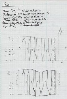 Victorian Corset - Pattern by sidneyeileen.deviantart.com on @deviantART
