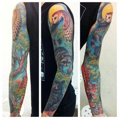 If this isn't the most amazing animal sleeve you've ever seen, I'll eat my hat.