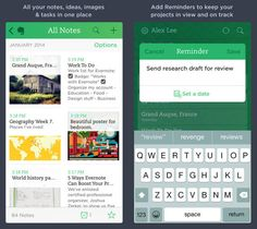 Evernote is always on the list of top productivity apps. If you want to store notes, pictures, to do lists, etc., Evernote is the app to get! All Notes, Good Notes, Apple 2017, Apple Business, Apple Maps, Apple Health, Productivity Apps, Music App, Evernote