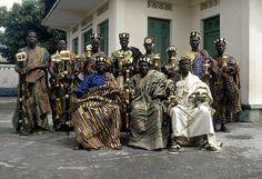 Africa | Photographer Eliot Elisofon traveled to the Ivory Coast & Ghana, where he captured the countries ceremonials royal presentations. From 1970 to 1972 he followed Paramount Chief Nana Akyanfuo Akowuah Dateh II (Ghana) and Dignitary N'Goran Koffi (Ivory Coast).