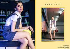 Girl's Got Game featuring Gabbi Garcia - Star Style PH Gabbi Garcia, Kathryn Bernardo, Got Game, Fall Leaves, Filipino, Star Fashion, Spotlight, Ph, Faces