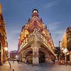 Palau de la Música Catalana - Barcelona - Catalonia.