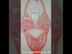 Coral Competition Bikini by Magic Bikinis, Fitness Bikini, Crystals, Sparkles, Bikini Model Bikini Fitness, Bikini Workout, Glamour Bikinis, Coral Orange, Bikini Models, Competition Bikinis, Crystals, Sparkles, Blog