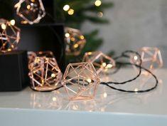 Rose Gold Rooms, Rose Gold Decor, Xmas Lights, Fairy Lights, Ikea Deco, Rose Gold Aesthetic, Christmas Diy, Christmas Decorations, Ramadan Activities