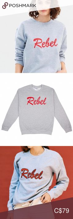 DOUBLE TROUBLE GANG Rebel Sweater Be the ultimate troublemaker! The 'Rebel' sweater features bold cherry red embroidery. Plus Fashion, Fashion Tips, Fashion Design, Fashion Trends, Varsity Sweater, Suede Mini Skirt, Double Trouble, Cherry Red, Kate Moss