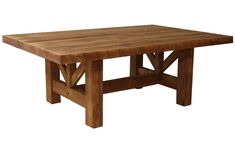 Sawmill Pine Dining Table w/ Armor Finish ~ Rustic Log Tables Pequot Lakes