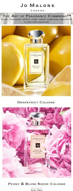 Jo Malone Perfumes - Combine Grapefruit with Peony & Blush Suede