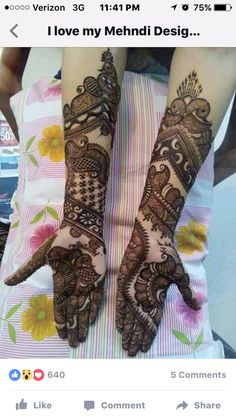 Especial Valentine's Day Mehndi Designs Traditional Mehndi Designs, Full Hand Mehndi Designs, Henna Art Designs, Mehndi Designs For Girls, Mehndi Designs For Beginners, Modern Mehndi Designs, Dulhan Mehndi Designs, Mehndi Design Photos, Wedding Mehndi Designs