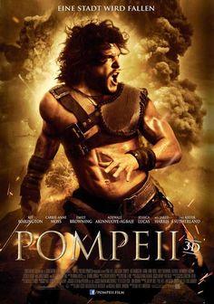 Pompeii (German) 27x40 Movie Poster (2014)