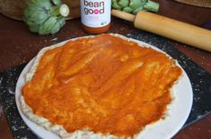 best pizza sauce ever - thick and tangy! mama jess bean good vegan pasta sauce #cleaneating #nosugaradded #vegan