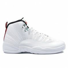 29ffd49d717652 130690-163 Air Jordan Retro 12 (XII) Rising Sun White Black Varsity Red  A12005