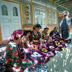 Central Asia - Great Silk Road Countries - Earth Cultures