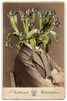 Waldemar Strempler . Living figures through collages * Design Catwalk