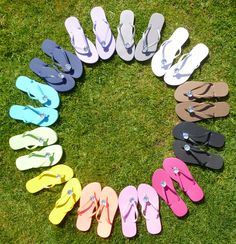 Bridesmaids Shoes for the reception!