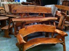 M s de 1000 ideas sobre muebles r sticos de jard n en for Bar rustico de madera nativa