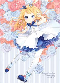 reminds me of Alice in Wonderland